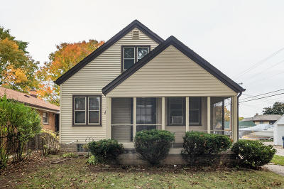 Milwaukee Single Family Home Active Contingent With Offer: 4818 N 71st St