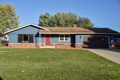 Greenfield Single Family Home For Sale: 6062 S 33rd St