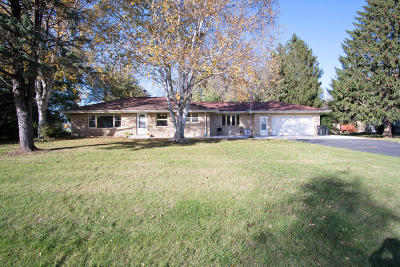 Menomonee Falls Single Family Home Active Contingent With Offer: N59w21962 Silver Meadows Dr