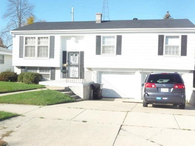 Racine Single Family Home For Sale: 4150 Manhattan Dr