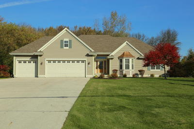 Menomonee Falls Single Family Home Active Contingent With Offer: N56w15000 Silver Spring Rd