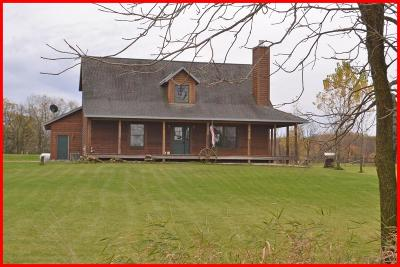 Palmyra Single Family Home Active Contingent With Offer: W1551 Lowland Dr