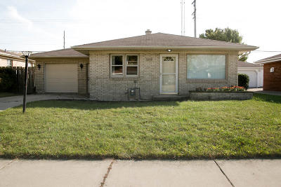 Racine Single Family Home For Sale: 3713 Republic Ave.
