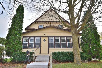 Menomonee Falls Single Family Home Active Contingent With Offer: W164n8948 Water St