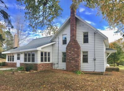 Jefferson County Single Family Home For Sale: N3698 Rome Oak Hill Rd