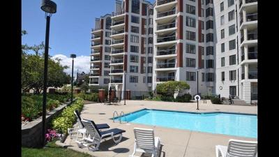 Racine County Condo/Townhouse Active Contingent With Offer: 333 Lake Ave #208