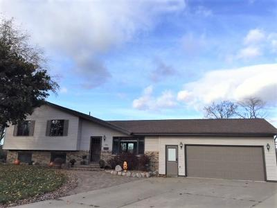 Bangor WI Single Family Home Active Contingent With Offer: $225,000