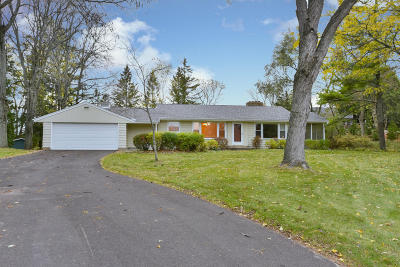 Germantown Single Family Home Active Contingent With Offer: N112w21740 Mequon Rd