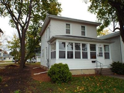 Single Family Home Active Contingent With Offer: 464 W Whitewater St