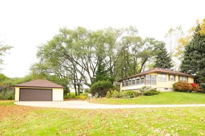 Menomonee Falls Single Family Home Active Contingent With Offer: N96w14737 County Line Rd