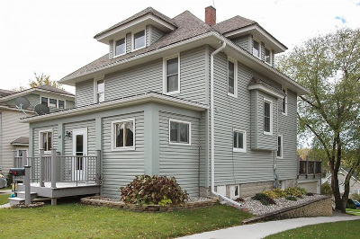 Mayville Single Family Home Active Contingent With Offer: 63 N German St