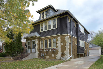 Shorewood WI Two Family Home For Sale: $269,900