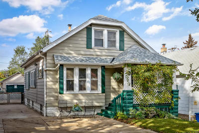 Single Family Home Active Contingent With Offer: 231 N 39th St