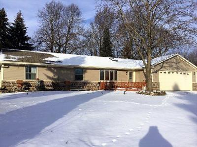 Slinger Single Family Home For Sale: 740 Saint Paul Dr
