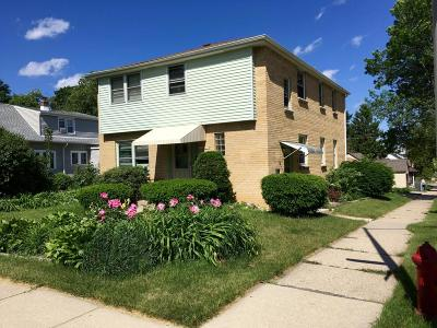 West Allis Two Family Home Active Contingent With Offer: 2076 S 95th #2078