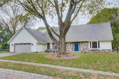 Oconomowoc Single Family Home Active Contingent With Offer: 704 Old Tower Rd