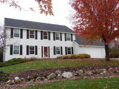 Waukesha Single Family Home Active Contingent With Offer: W310s2751 Wild Rose Ln