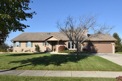 Saukville Single Family Home Active Contingent With Offer: 688 S Fox Run Dr