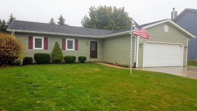 Washington County Single Family Home Active Contingent With Offer: N169w20163 Chateau Dr