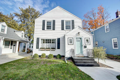 Shorewood Single Family Home Active Contingent With Offer: 4506 N Sheffield Ave