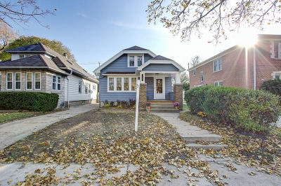 Milwaukee WI Single Family Home Active Contingent With Offer: $169,900
