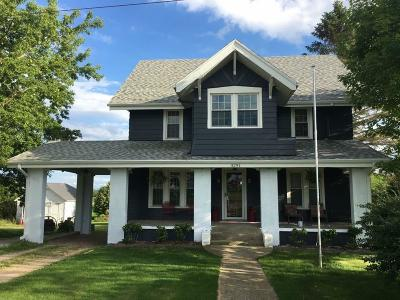Single Family Home Active Contingent With Offer: 3291 Pioneer Rd