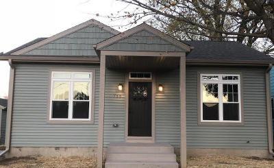 Single Family Home For Sale: 753 S Indiana Ave