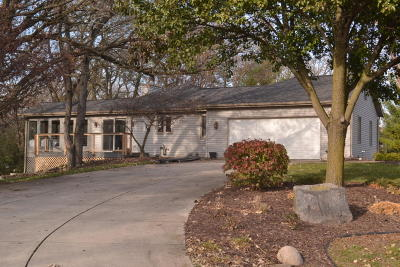 Waukesha Single Family Home Active Contingent With Offer: W316s2945 Roberts Rd