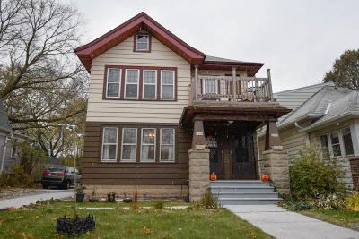 Wauwatosa Two Family Home For Sale: 5825 W Wisconsin