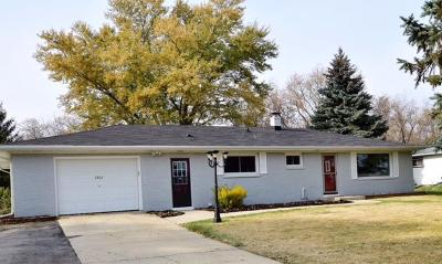 Racine Single Family Home Active Contingent With Offer: 3502 N Green Bay Rd