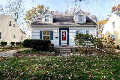 West Allis Single Family Home For Sale: 2639 S 99th St