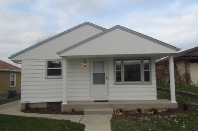 South Milwaukee Single Family Home For Sale: 1330 Sherman Ave
