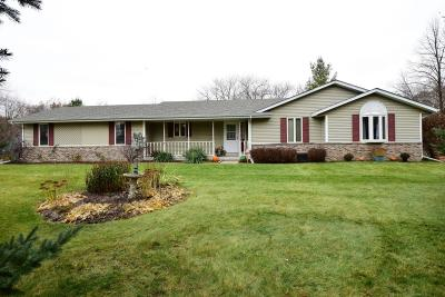 Single Family Home For Sale: W7640 Shagbark Rd