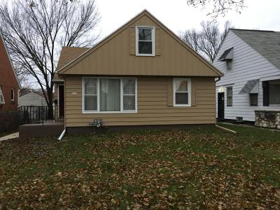 Milwaukee Single Family Home For Sale: 4731 N 42nd St