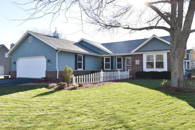 Muskego Single Family Home Active Contingent With Offer: S77w14315 McShane Dr