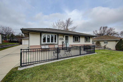 Menomonee Falls Single Family Home Active Contingent With Offer: W145n8441 Lucerne Dr