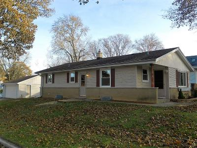 Milwaukee County Single Family Home For Sale: 2536 N 115th St