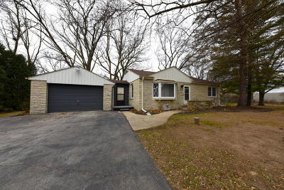 Menomonee Falls Single Family Home Active Contingent With Offer: W140n7023 Lilly Rd