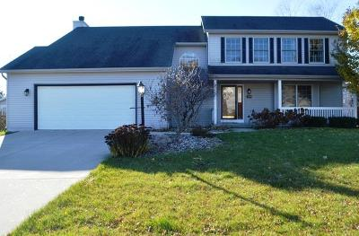 Pleasant Prairie Single Family Home For Sale: 3219 121st Pl