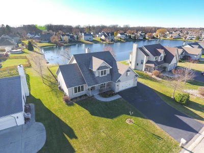 Racine Single Family Home Active Contingent With Offer: 1607 Shore Dr