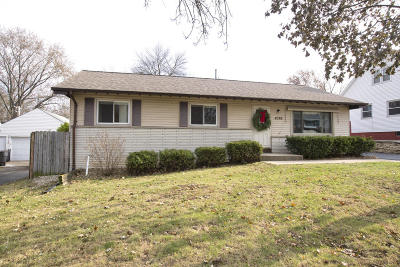Greenfield Single Family Home For Sale: 4376 S 36th St