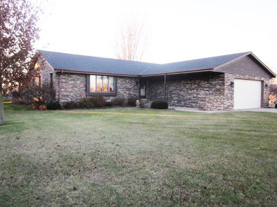West Bend Single Family Home Active Contingent With Offer: 6793 Reuter Ln