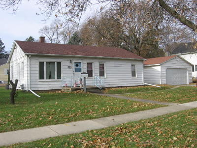 Whitewater Single Family Home Active Contingent With Offer: 252 S Whiton