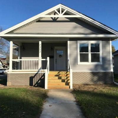 Kenosha Single Family Home Active Contingent With Offer: 7303 16th Ave