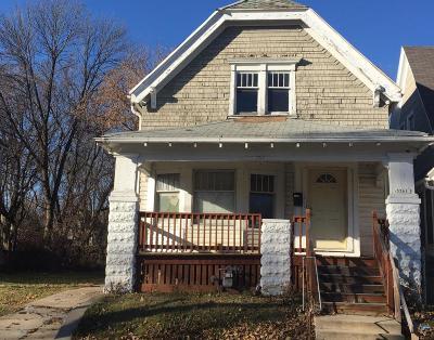 Milwaukee Single Family Home For Sale: 3361 N 1st St