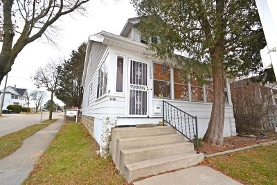 West Allis Two Family Home For Sale: 7227 W Washington St