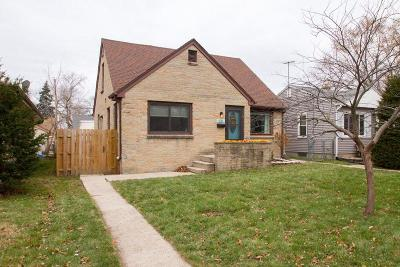 West Allis Single Family Home Active Contingent With Offer: 931 S 114th St