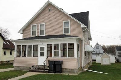 Mayville Single Family Home For Sale: 352 N Henninger St