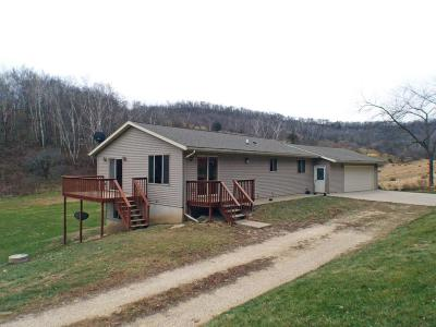 Single Family Home For Sale: W3091 J Bryhn Rd