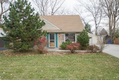 Single Family Home For Sale: W171s7186 Lannon Drive